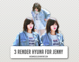 [Taking Request] 3 Render Hyuna (For Everyone) by meowngusi