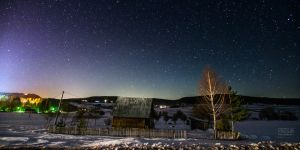 Night over the Zlatar by Piroshki-Photography