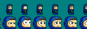 OC's: Android character face test. by Cyberguy64