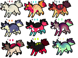 Doge Adoptables 01 by catdoq
