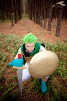 Chrono Trigger: Human Frog by elysiagriffin