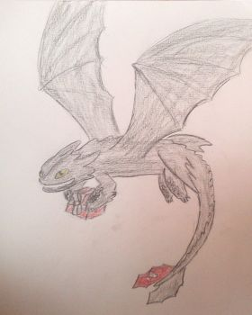 Birthday Toothless by steave1425