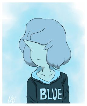 Blue In Blue by ArbitraryLabby
