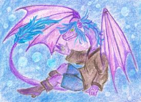 ACEO for Dragea by HarpyCelene