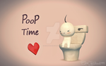 Late Night with Cry and Russ: Poop Time Fan Art by AceBlood1991