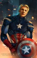 Captain America by sheer-madness