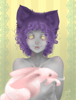 White Rabbit by TwistedAsphyxia