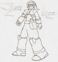 Jane -00- by Reploid-Man