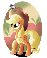Applejack by Ruhisu