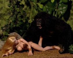 Gorilla Attack 1 by billvolc