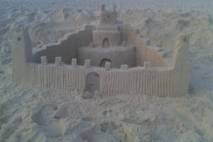 Sand Castle by LittleFishPenguin95