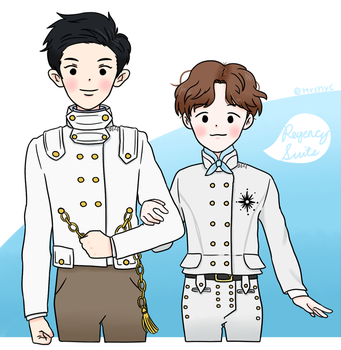 Regency Suits by mnemosyne24