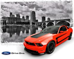 BOSS 302 AD2 by nascar3d