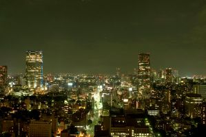 night in tokyo3A by weiweihua