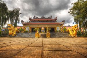 Vietnam Pagoda 2 by comsic