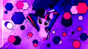 Wallpaper - Seductive (Twilight Sparkle) by AntylaVX