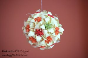 Kusudama 9 by happy96