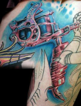 monicas tattoo machine by tat2istcecil