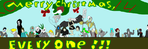 Holiday Merryment- 2014 by MethusulaComics