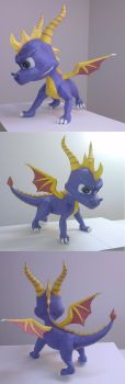 Spyro the Dragon by CJM99