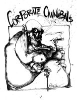 corporate cannibals 3 by sketchoo