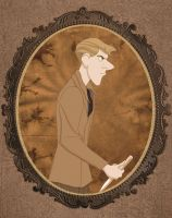 Roger as Alfred Singleton by LilithRow