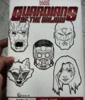 Guardians of the Galaxy by BearMamba