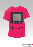 Gameboy Color - Pink by karbondigital