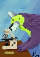 For Love of Petri and Microscopes by Soulful-Purple-Wolf