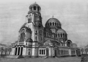 St. Alexander Nevsky Cathedral by ALiaS-BG