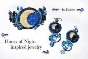House of Night Jewelry Set by Hyo-pon