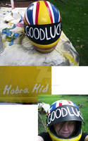Kobra Kid Helmet by MarshmallowPancake