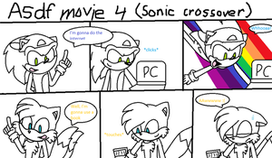 ASdf movie 4 sonic crossover by Imtailsthefoxfan