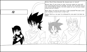 Dragonball Multiverse Panel by RageVX