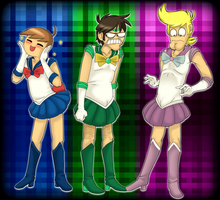 Sailor Morons by PolisBil