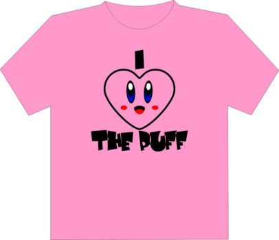 I Heart the Puff Shirt by Jay13x