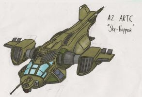 "A2 ARTC ""Skyhopper"" by THE-DALEK-SUPREME"