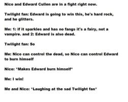 Nico always wins by PercyJacksonshalfsis
