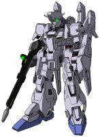 MSZ-006A2 Zeta Plus A2 (mobile suit mode) by unoservix