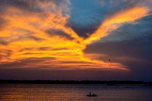 Sunset above Charleston by SniperOfSiberia
