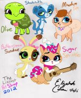 Littlest Pet Shop 2012: More Pets! by LizDraws