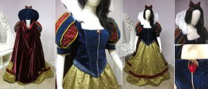 Snow White Dress by Lillyxandra