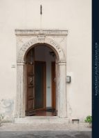 Santa Chiara Entrance by kuschelirmel-stock