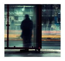 Bus stop. 2 by Erixxfoto