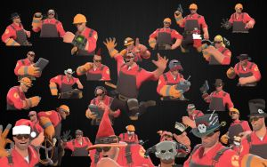 TF2-Engineer Wallpaper by Nnoitra1