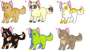 Adoptables Patch #2 by Misswd