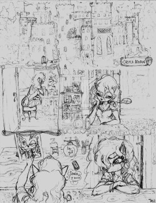 The Search For Sonic, Part 1, Pg 1 (2015) by La-Nora