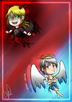 Hetalia: Devil and Angel [Gift for HB] by wasipol