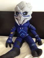 Garrus Vakarian Plush - FOR SALE by GothicEssence
