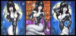 ELVIRA PERSONAL SKETCH CARDS by AHochrein2010
